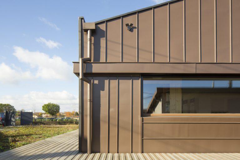 Maison individuelle passive, Montceaux (France) Vues du Zinc n° 63